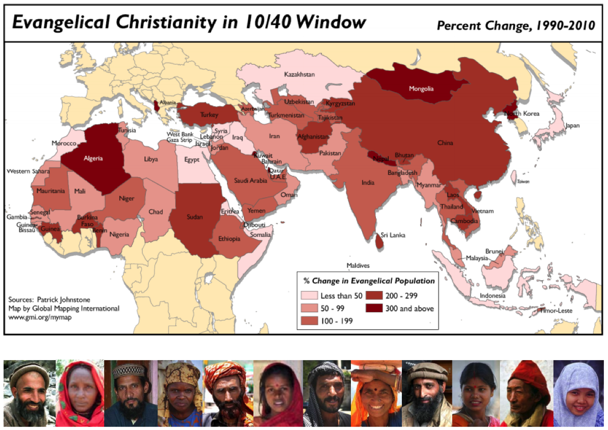 10 40 window progress the word on end times for 10 40 window list of countries