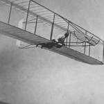 Gliding_flight,_Wright_Glider,_Kitty_Hawk,_NC._1902